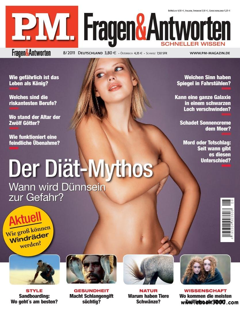 PM Fragen und Antworten Magazin August No 08 2011 free download