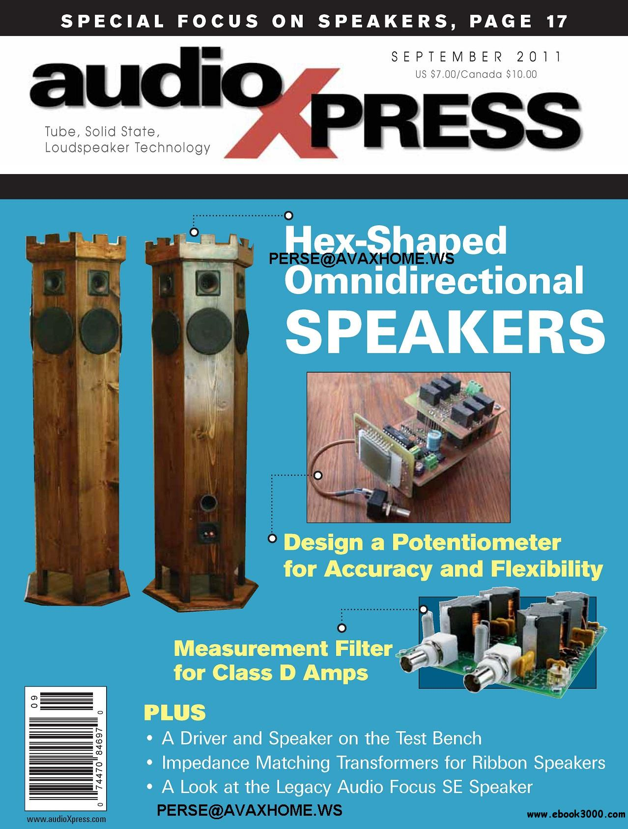 AudioXpress Magazine September 2011 free download