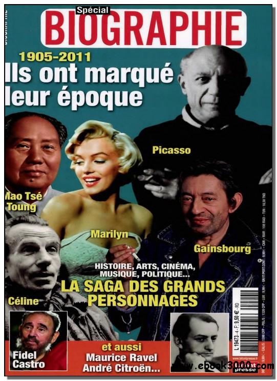 Special Biographie N 4 - Juillet/Aout/Septembre 2011 free download