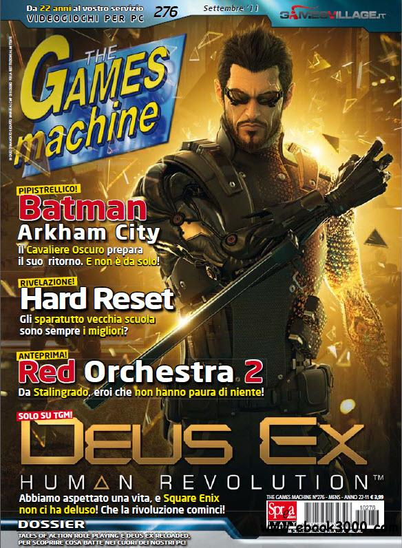 The Games Machine N.276 - Settembre 2011 free download