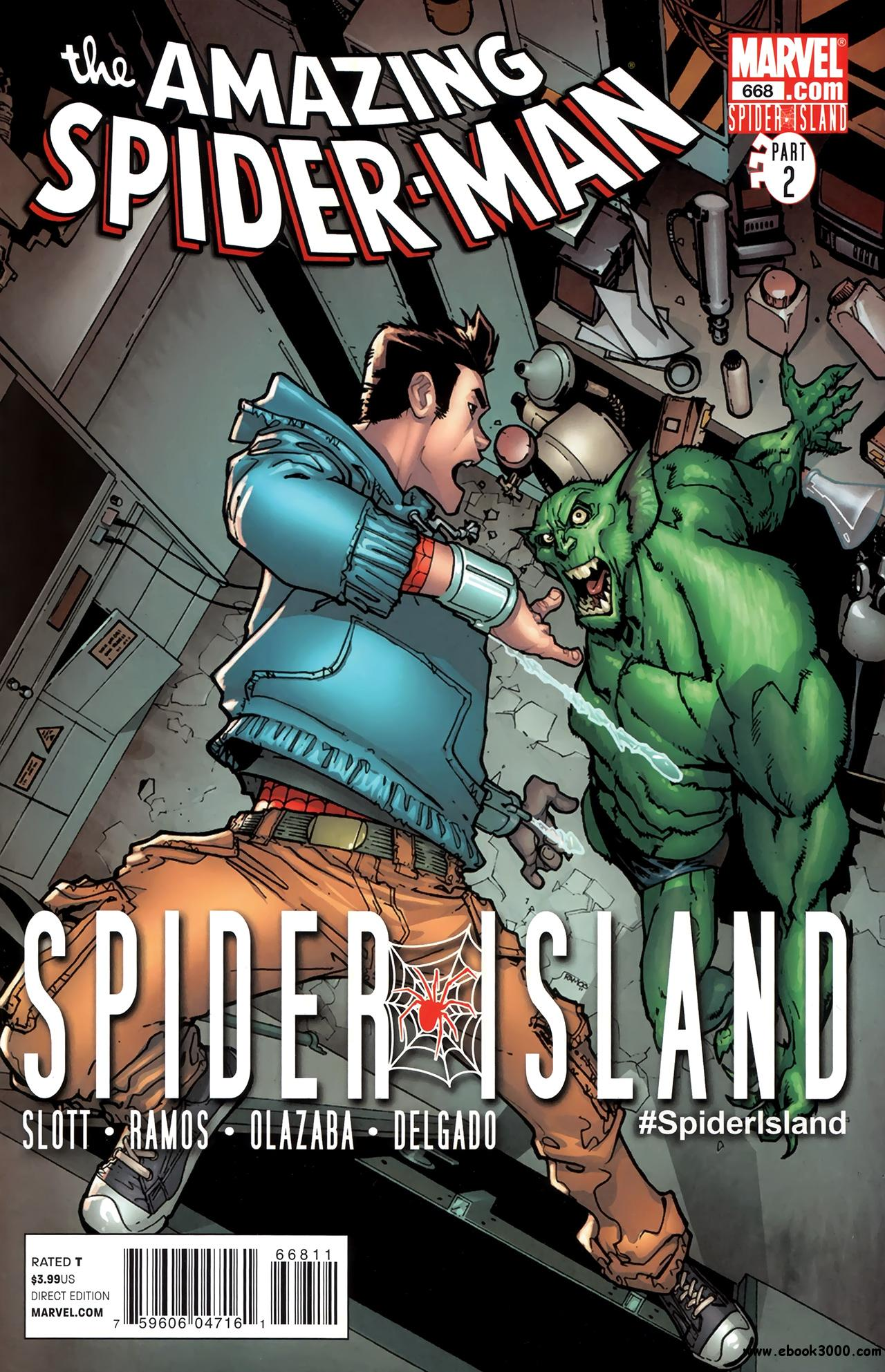 The Amazing Spider-Man #668 (2011) free download