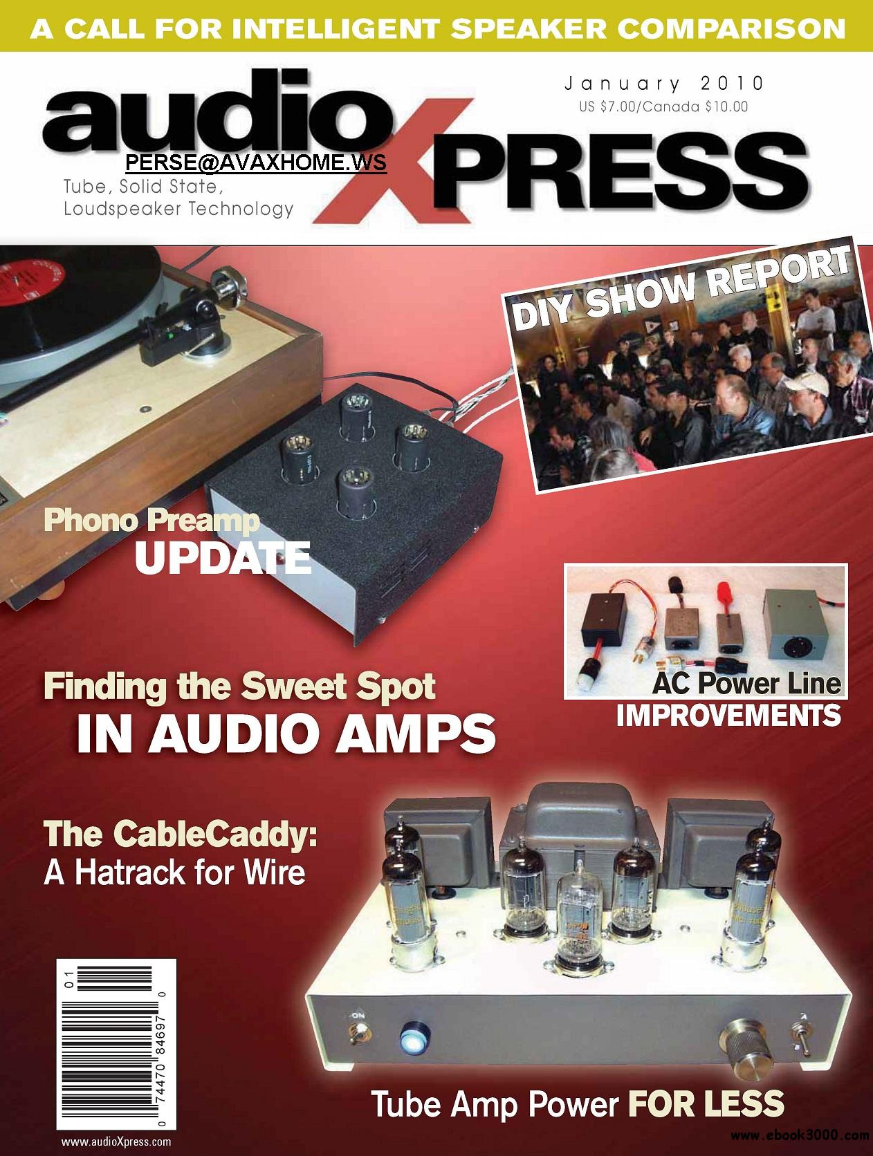 AudioXpress JANUARY 2010 free download