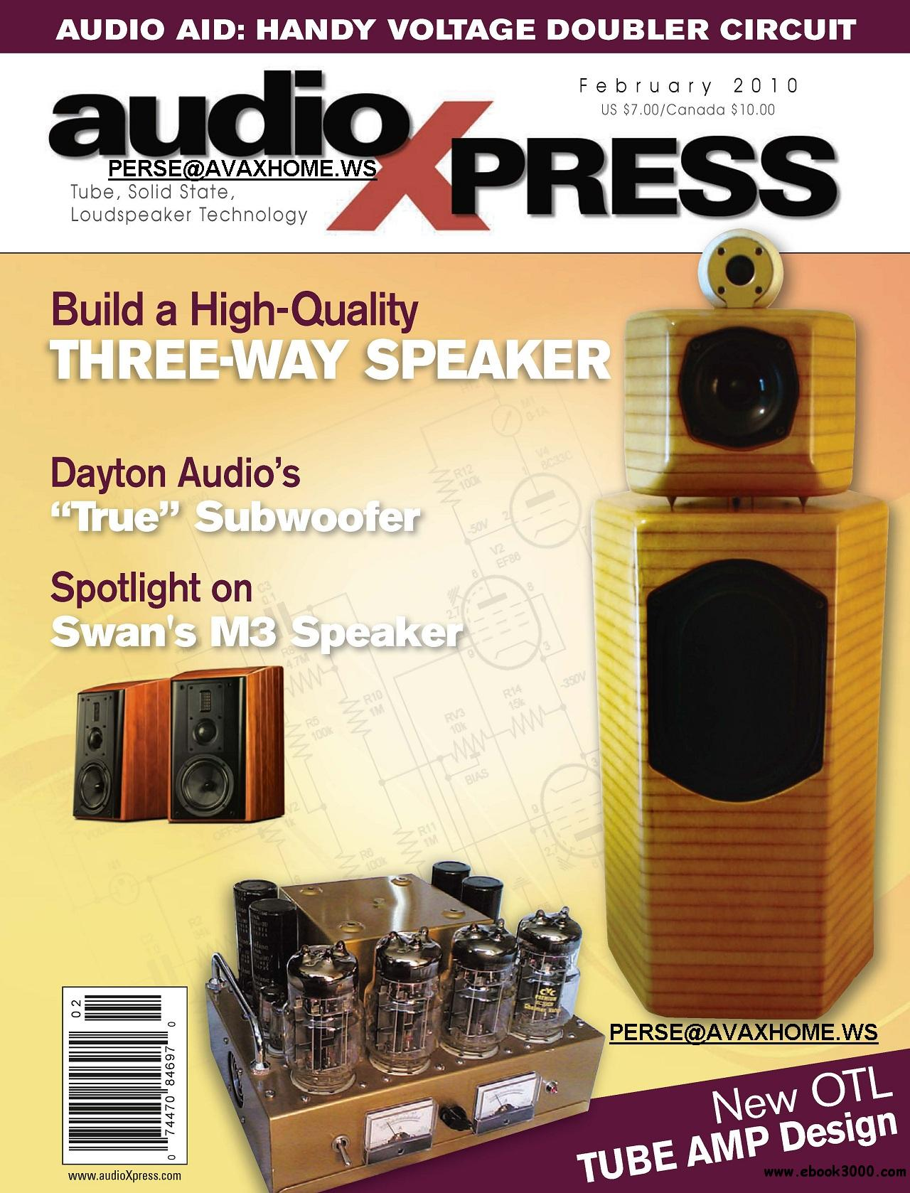 AudioXpress FEBRUARY 2010 free download