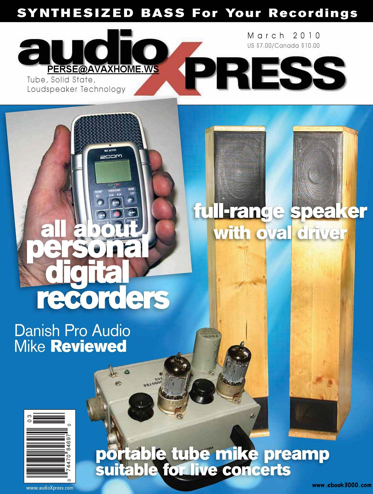 AudioXpress MARCH 2010 free download