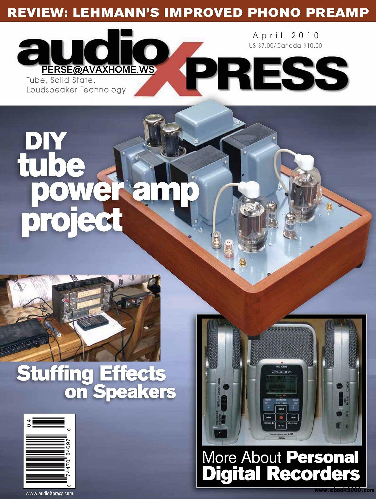 AudioXpress APRIL 2010 free download