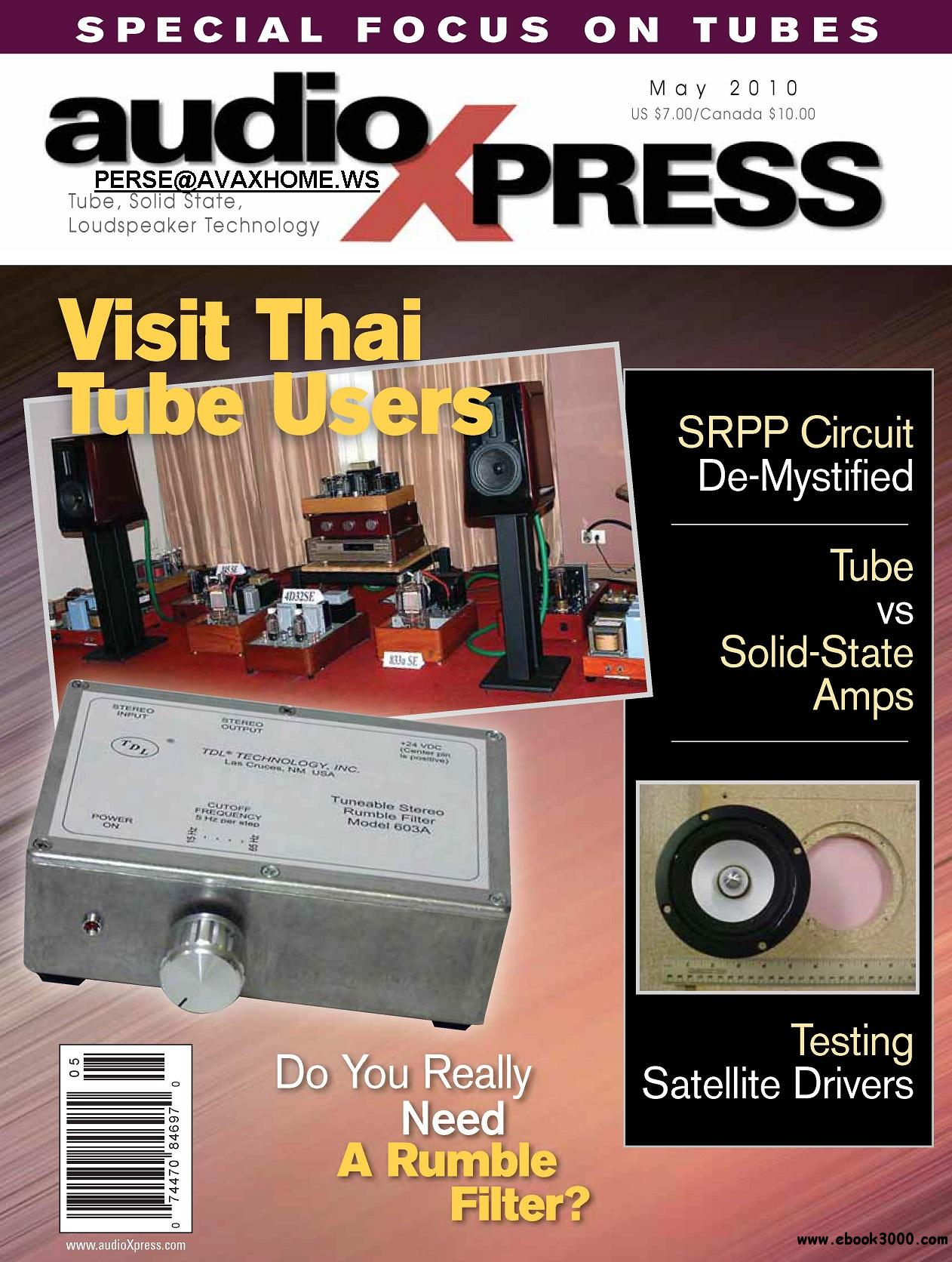 AudioXpress MAY 2010 free download