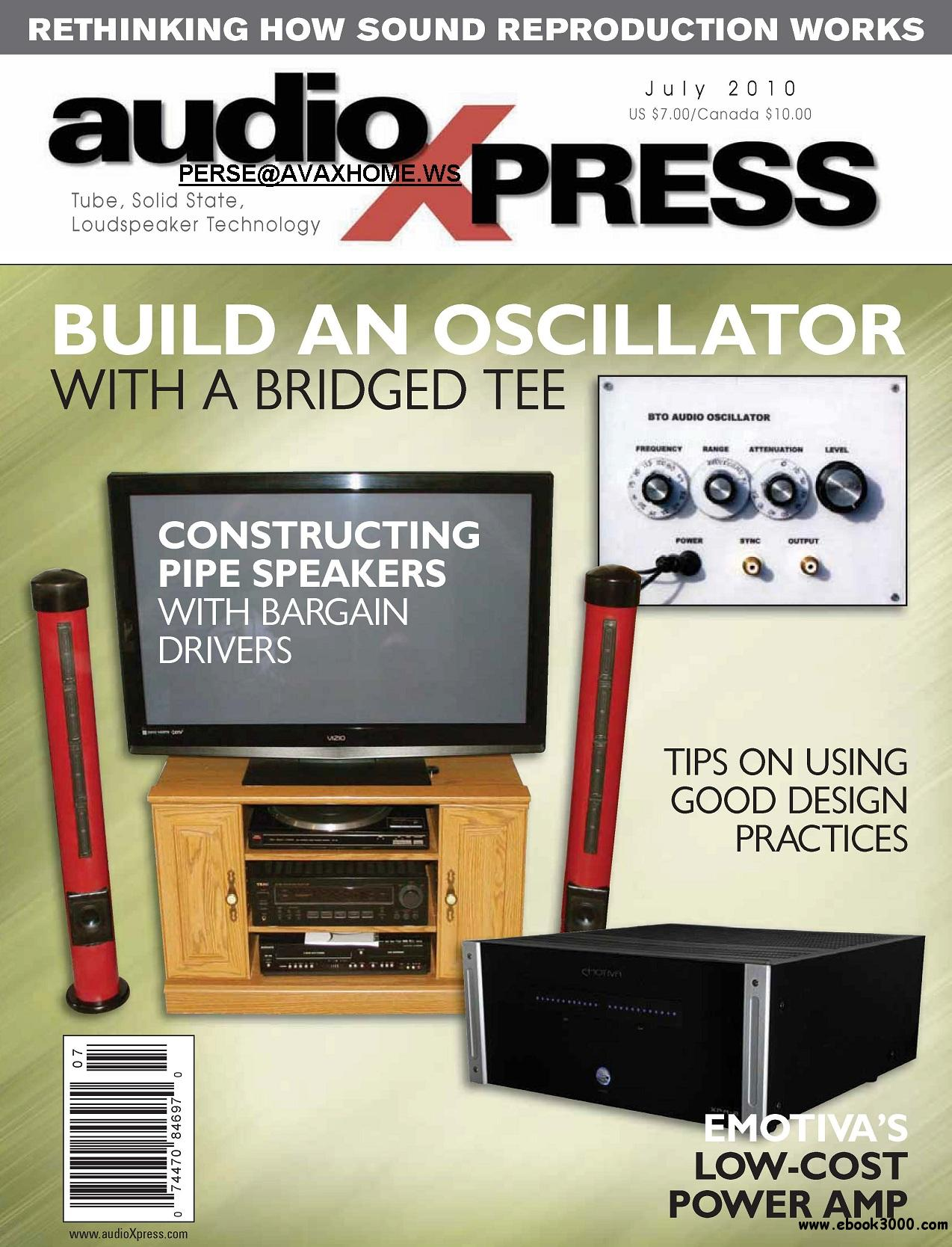 AudioXpress JULY 2010 free download