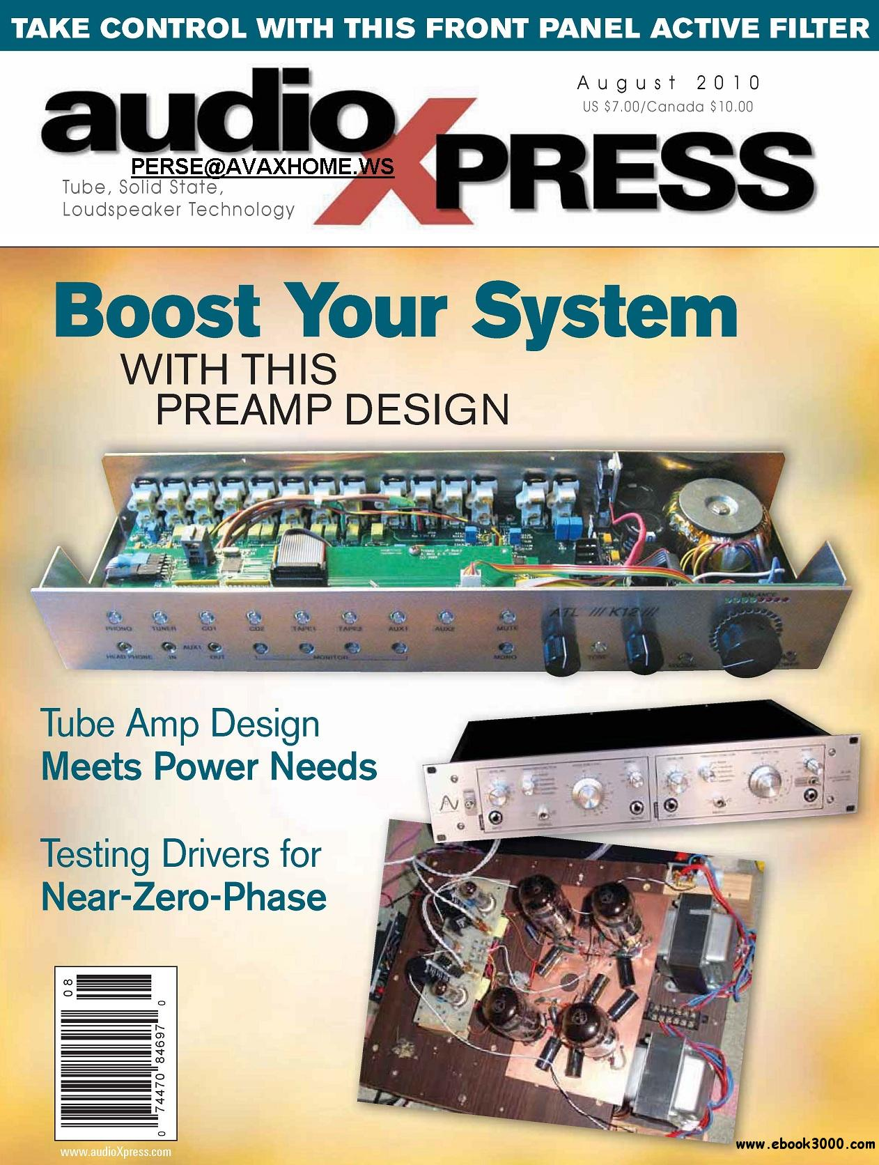 AudioXpress AUGUST 2010 free download