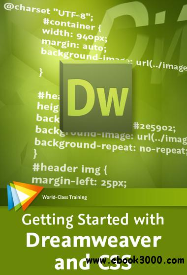 video2brain - Getting Started with Dreamweaver and CSS free download