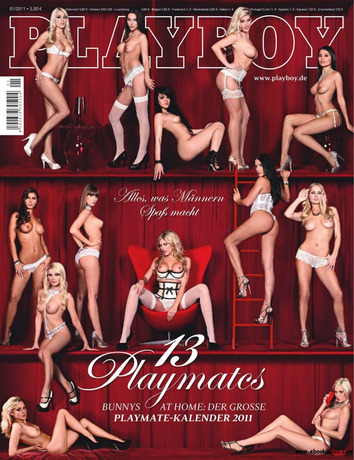Playboy Germany - January 2011 free download