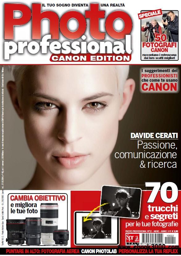 Professional Photo CANON Edition N.22 - Settembre 2011 free download