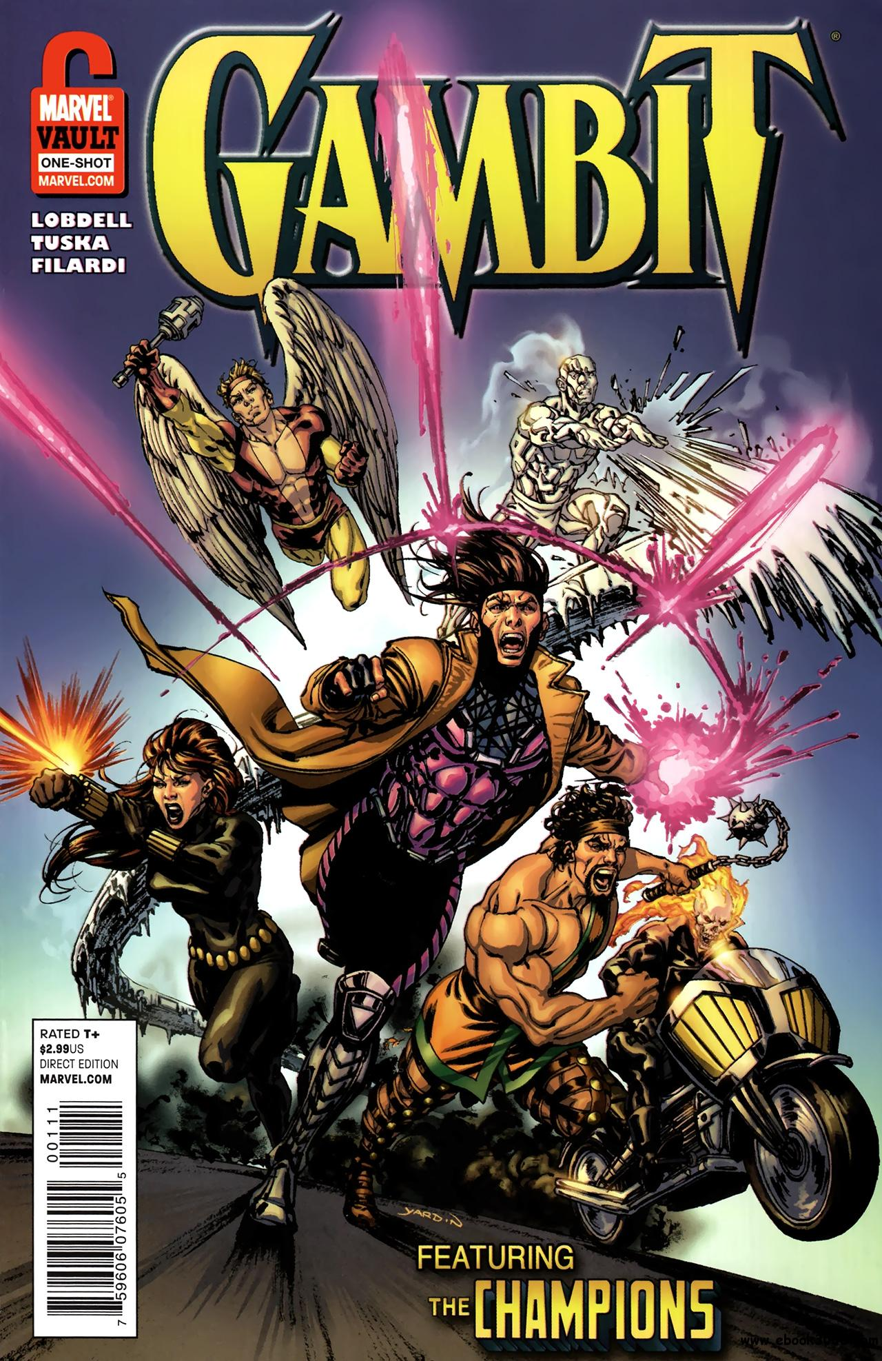 Gambit and the Champions - From the Marvel Vault #1 (2011) free download