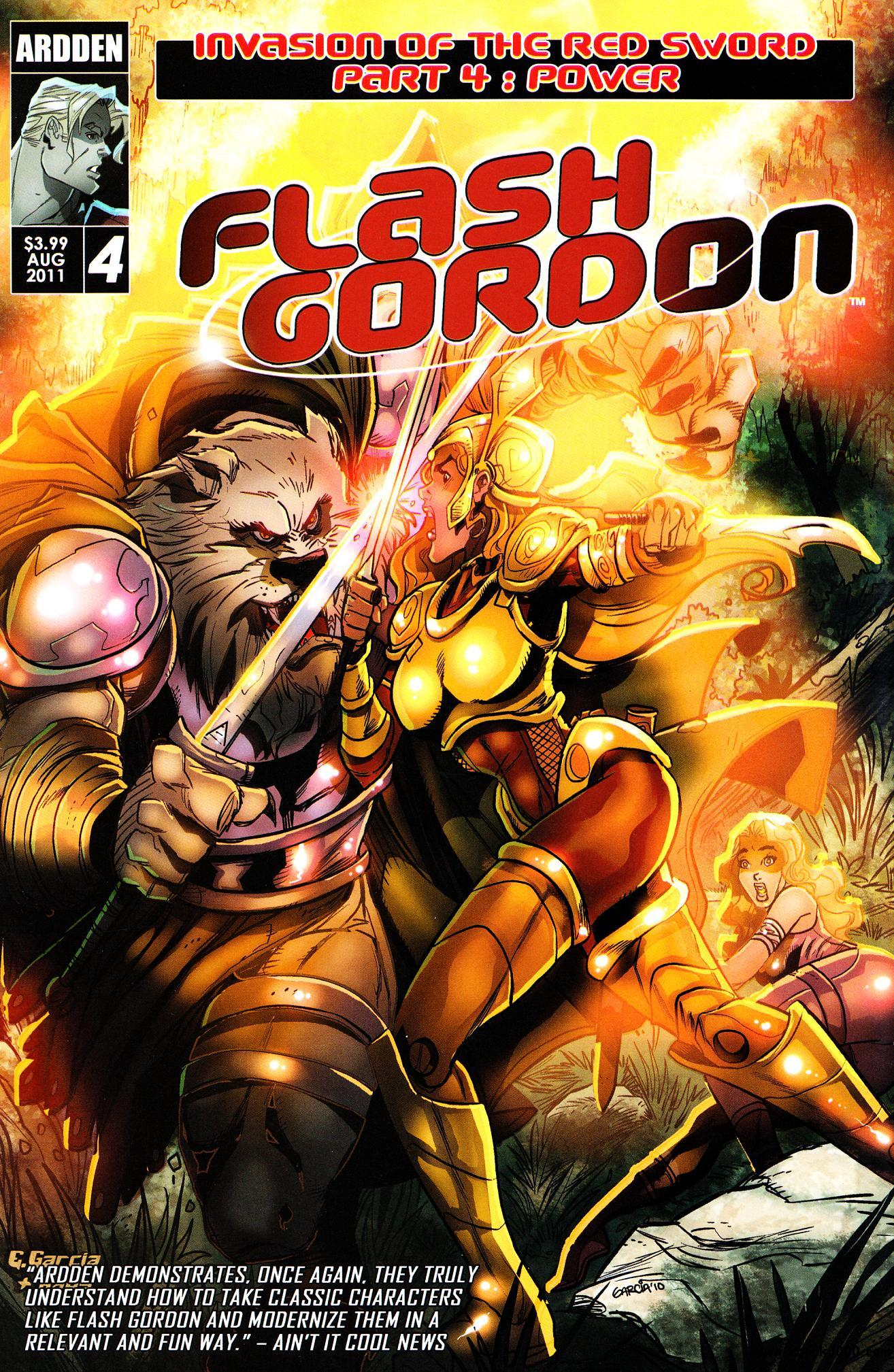 Flash Gordon: Invasion of the Red Sword #4 (2011) free download