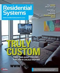 Residential Systems - September 2011 free download