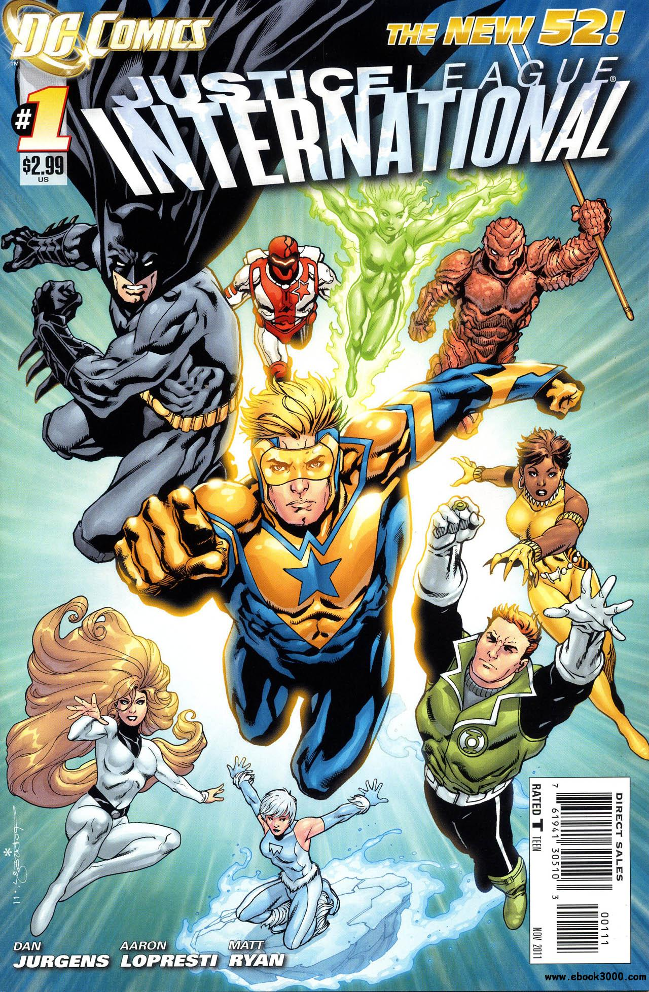 Justice League International #1 (2011) free download
