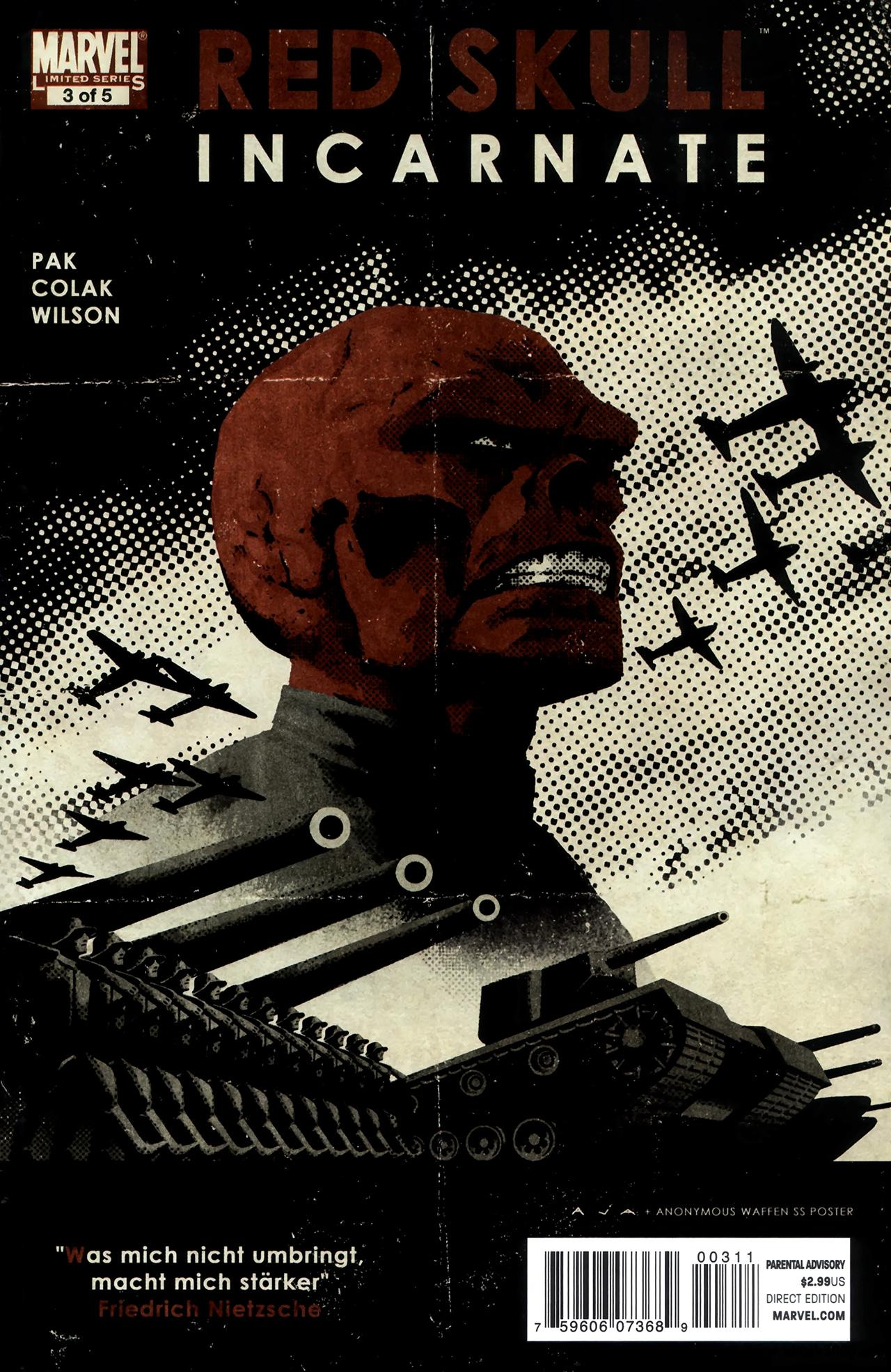 Red Skull #3 (of 05) (2011) free download