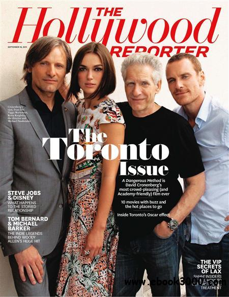 Hollywood Reporter - 16 September 2011 free download