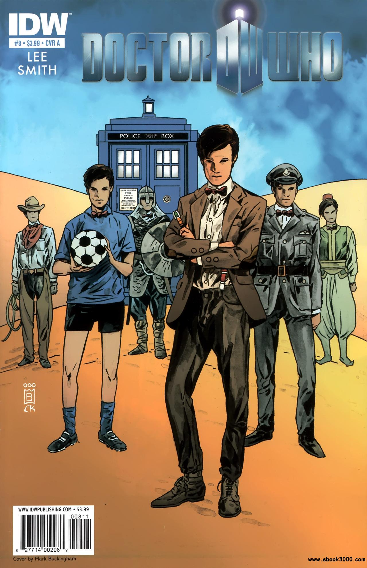 Doctor Who #8 (2011) free download