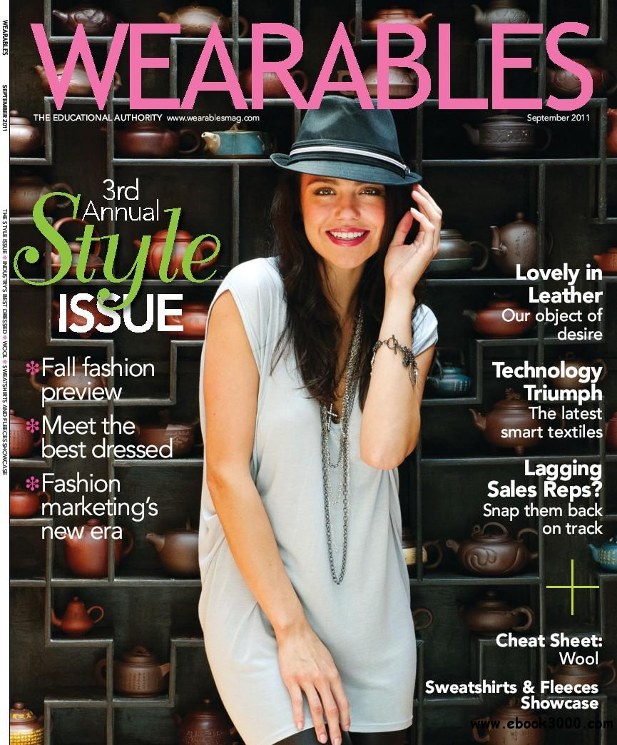 Wearables - September 2011 free download