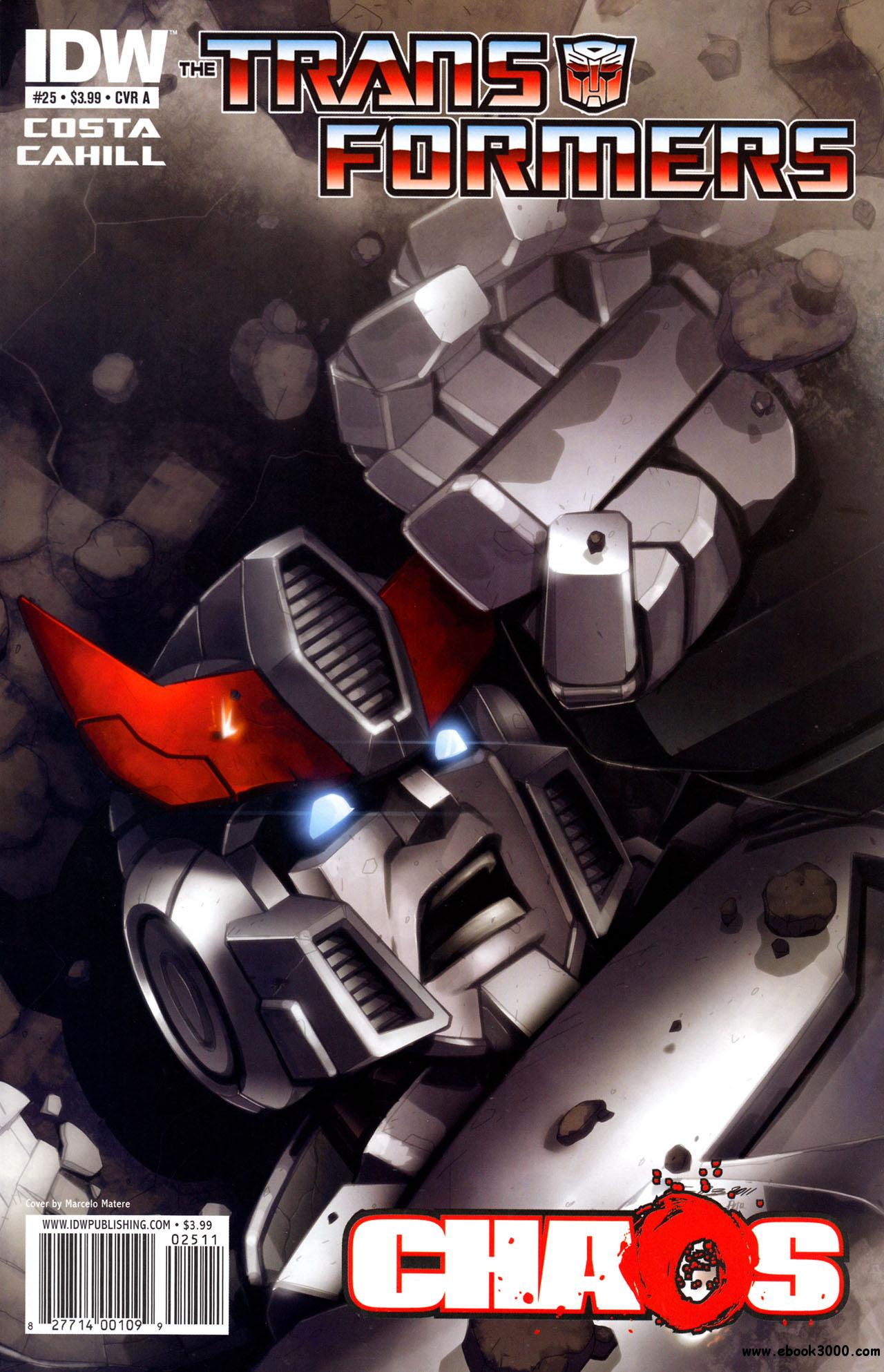 Transformers #25 (2011) free download