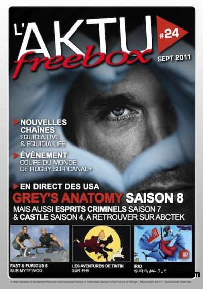L'Aktu Freebox N 24 Septembre 2011 free download