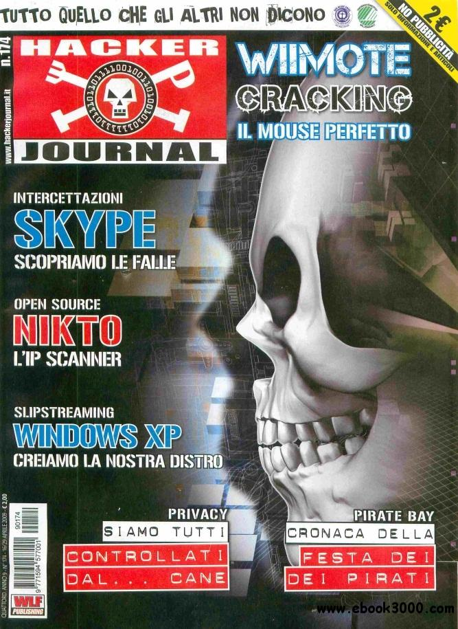 Hacker Journal N 174 - 16-29 Aprile 2009 free download