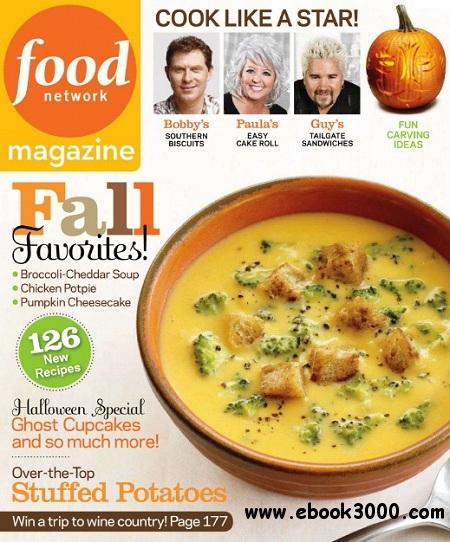 Food Network - October 2011 free download