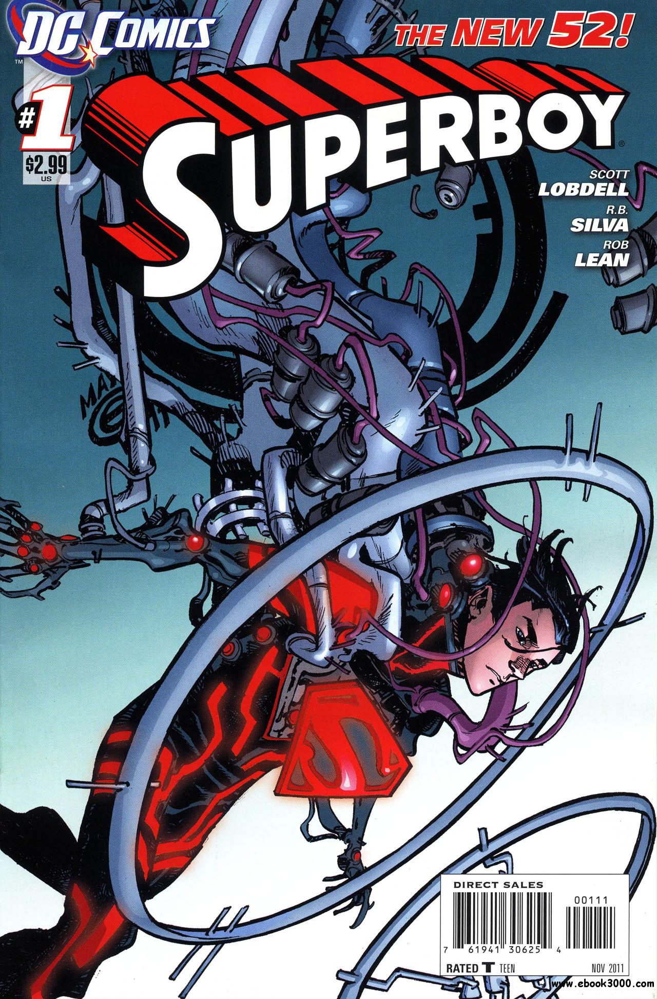 Superboy #1 (2011) free download