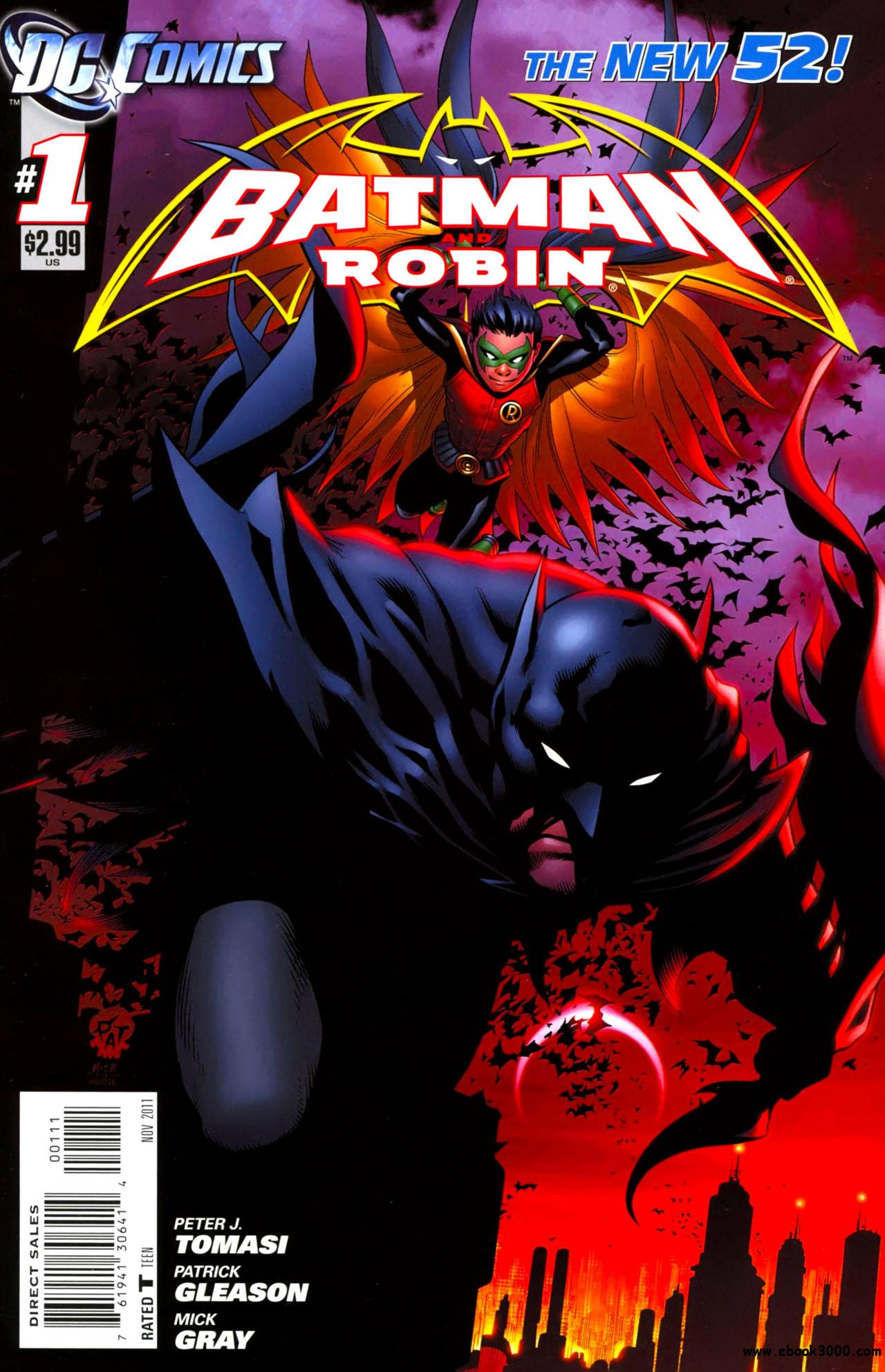 Batman And Robin #1 (2011) free download