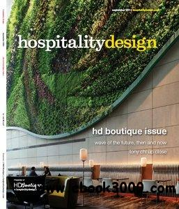 Hospitality Design - September 2011 free download