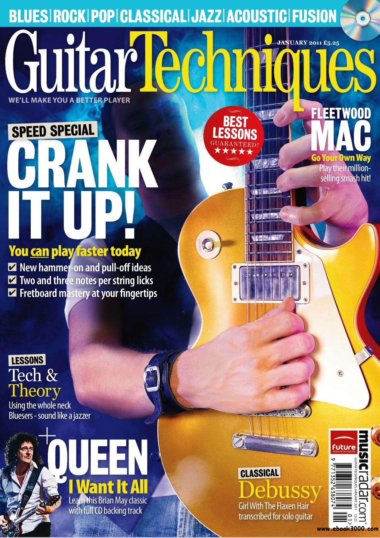 Guitar Techniques C No186 January 2011 free download