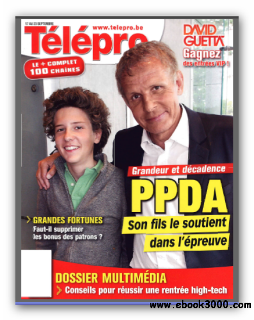 Telepro N 3002 du 17 au 23 Septembre 2011 free download