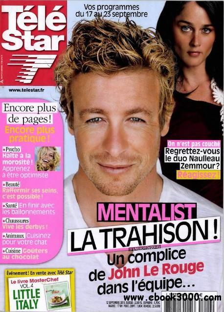 Tele Star N 1824 du 17 au 23 Septembre 2011 free download