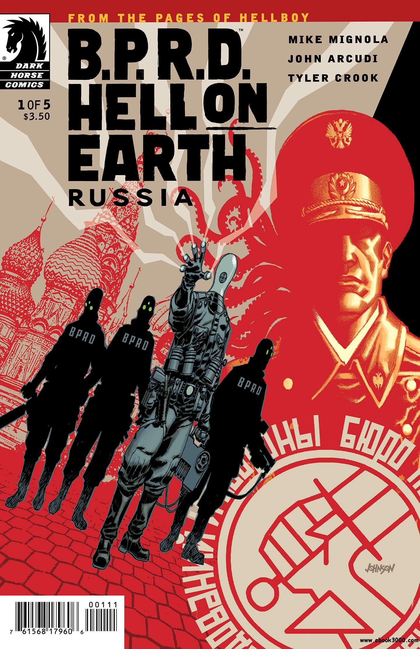 B.P.R.D. Hell on Earth - Russia #1 (of 05) (2011) free download