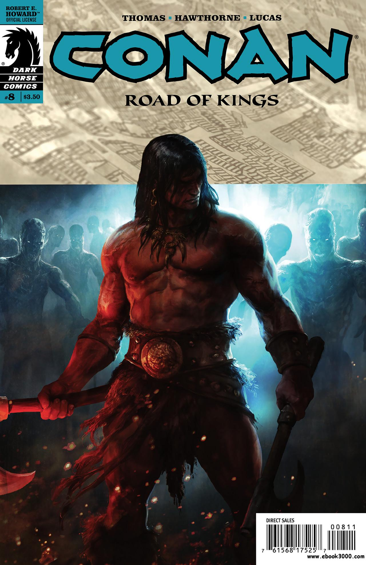 Conan - Road of Kings #8 (2011) free download