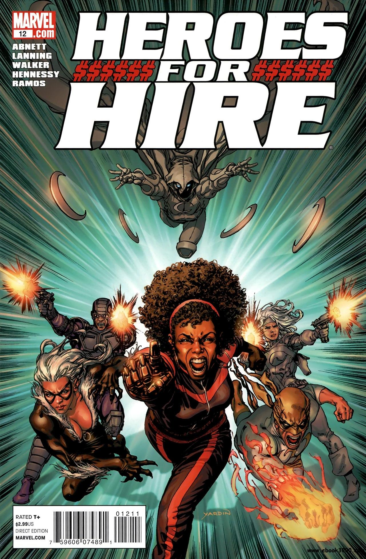 Heroes For Hire #12 (2011) free download