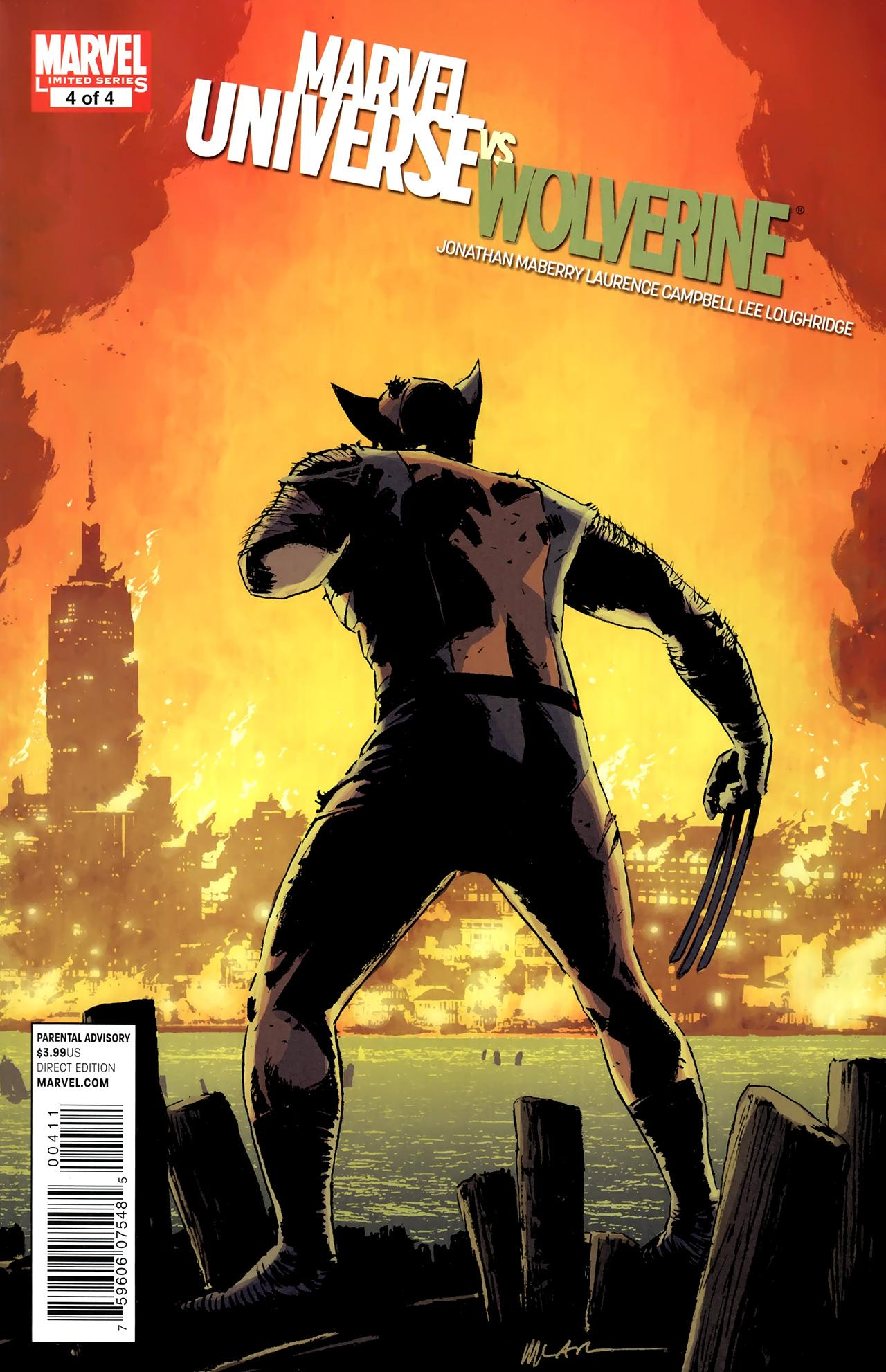 Marvel Universe vs. Wolverine #4 (of 04) (2011) free download