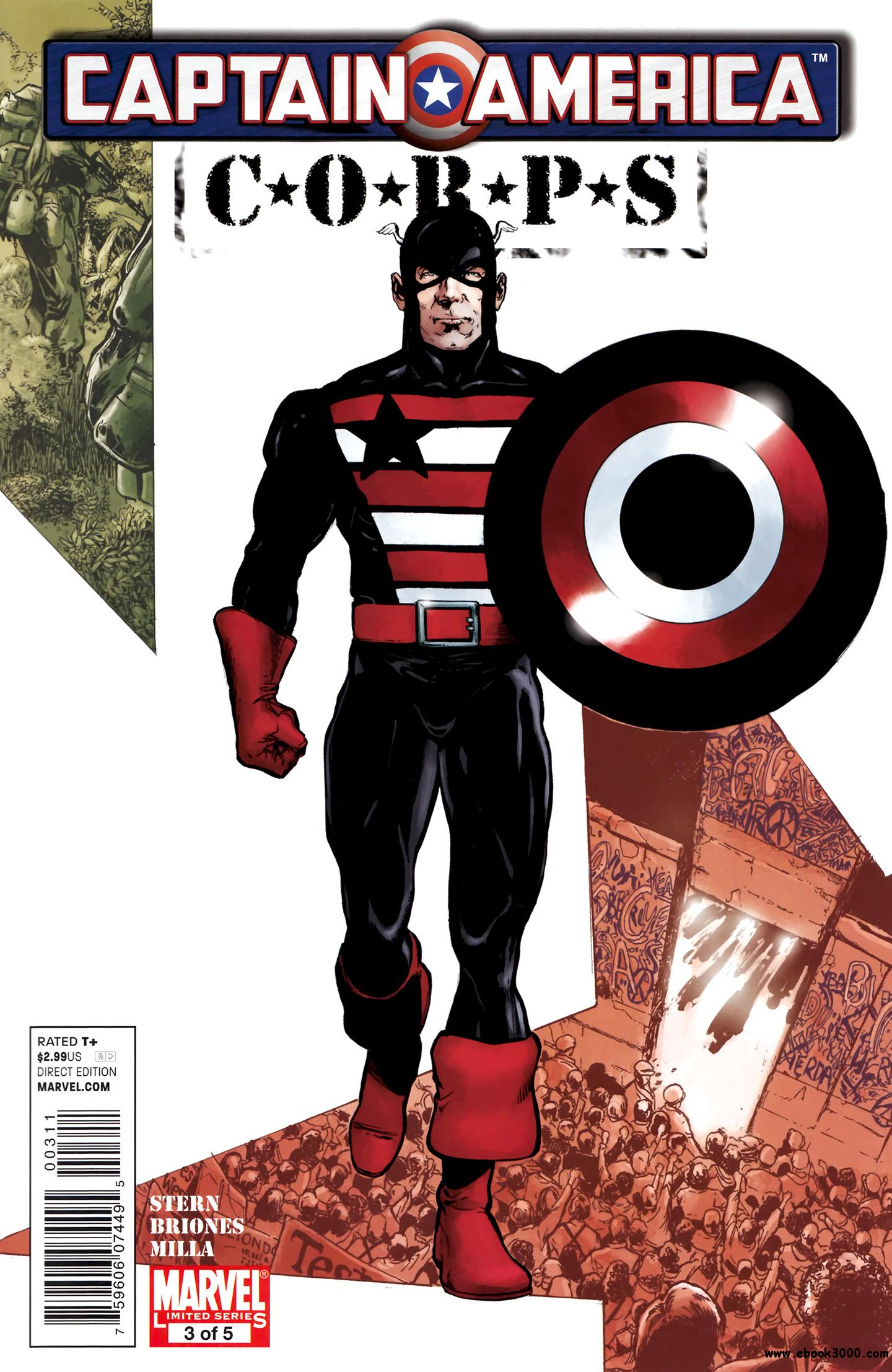 Captain America Corps #3 (of 05) (2011) free download
