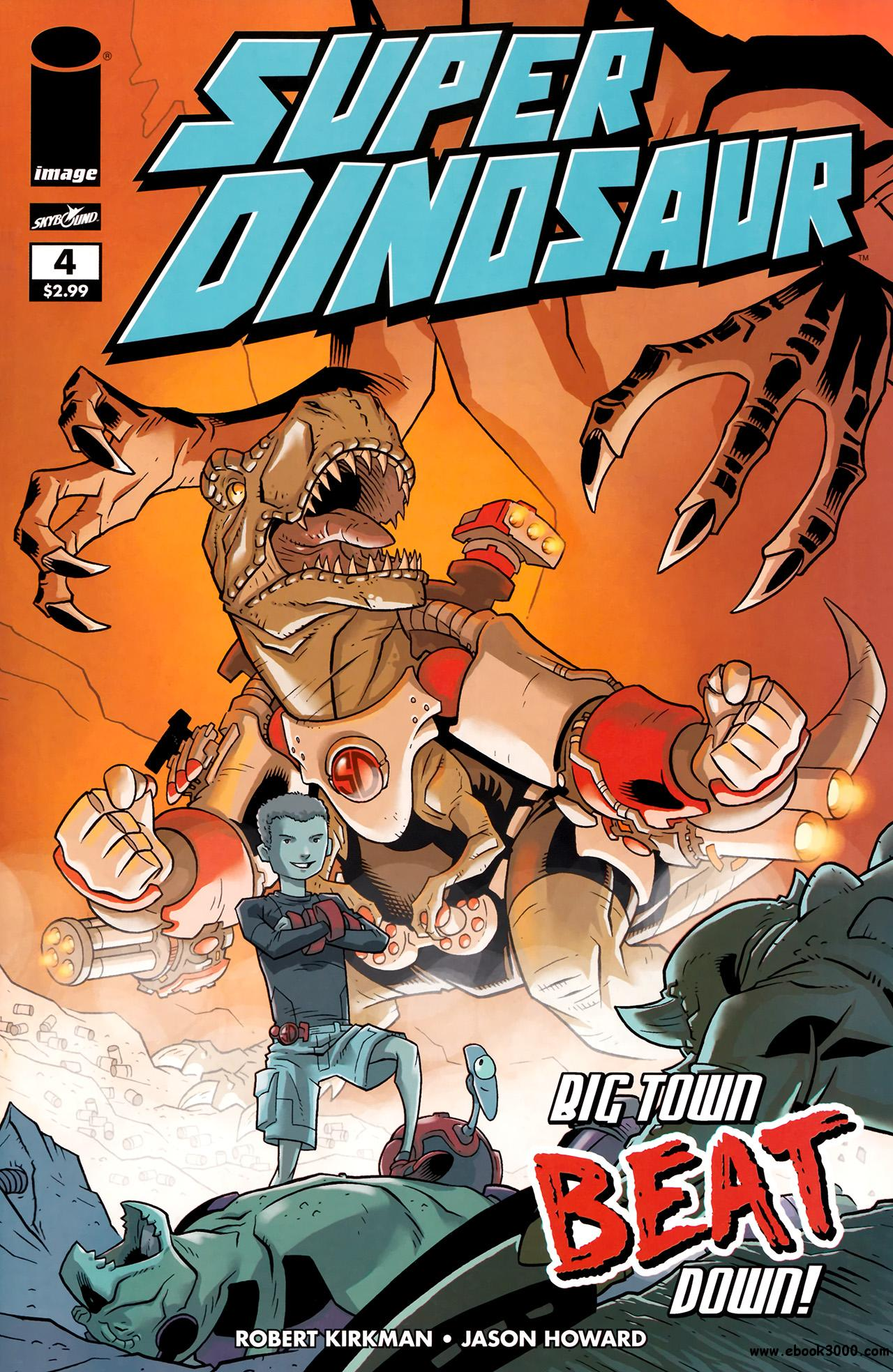 Super Dinosaur #4 (2011) free download