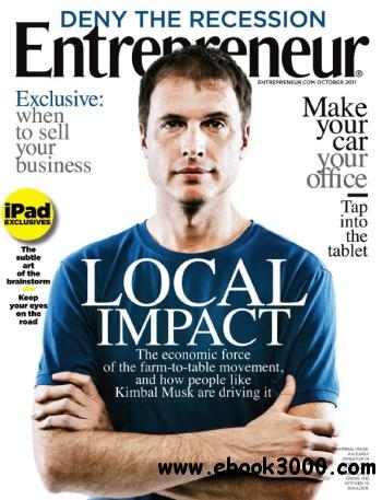 Entrepreneur - October 2011 free download