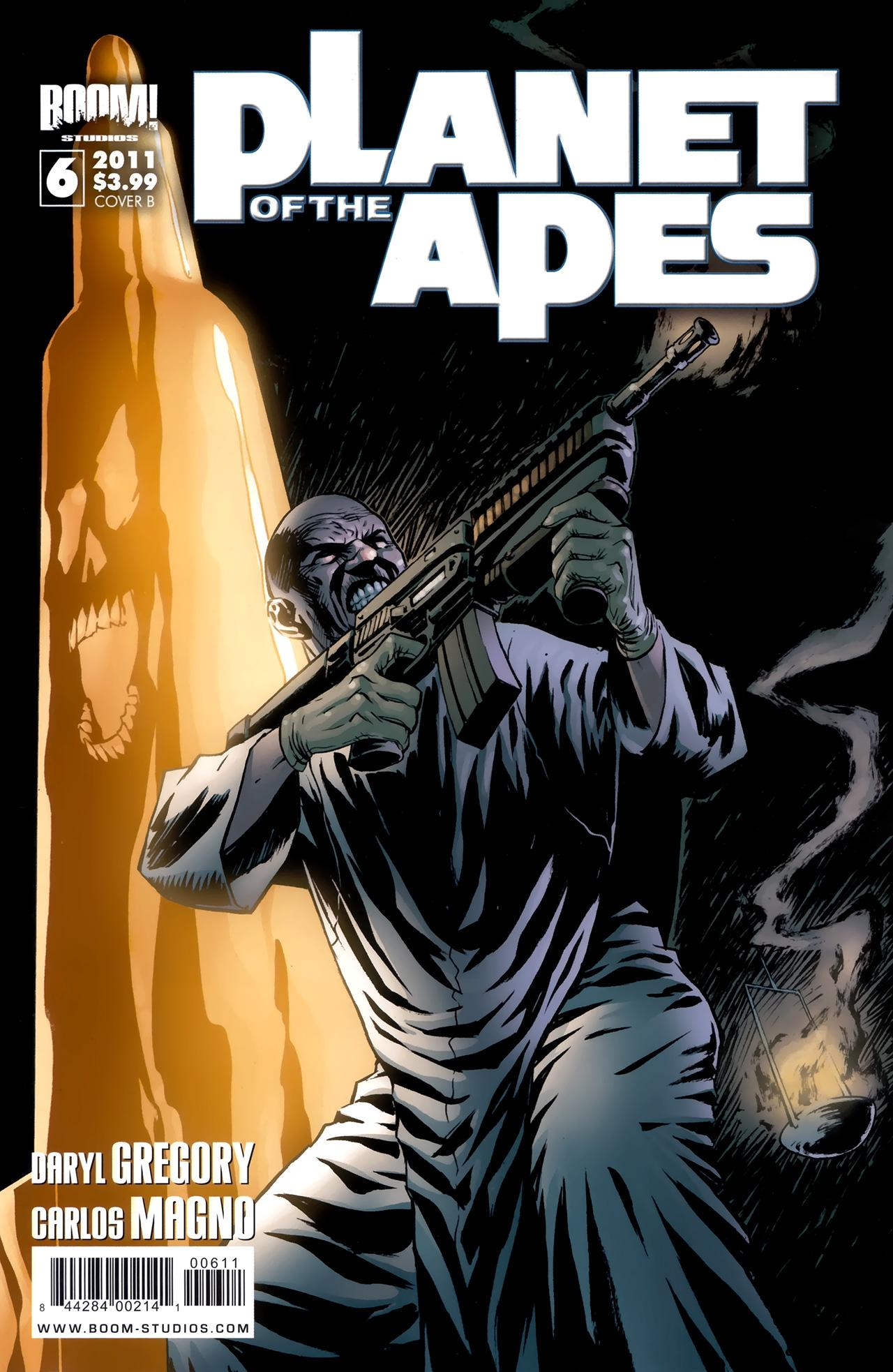 Planet Of The Apes #6 (2011) free download