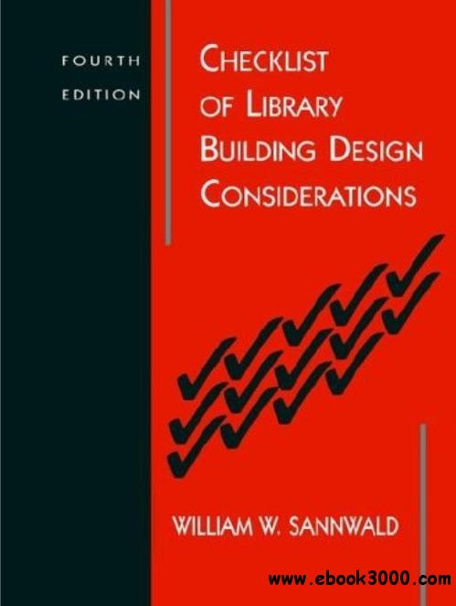 Checklist of Library Building Design Considerations (4th edition) free download