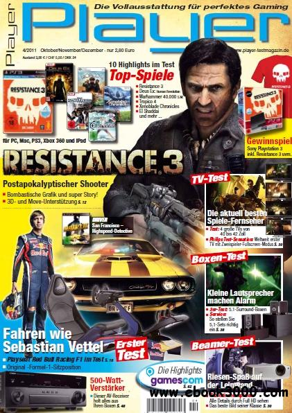 Player Magazin Oktober - Dezember No 04 2011 free download