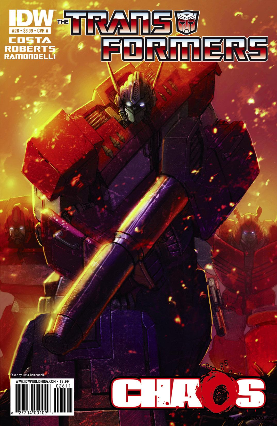 Transformers #26 (2011) free download