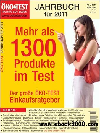 Okotest - Jahrbuch fur 2011 free download