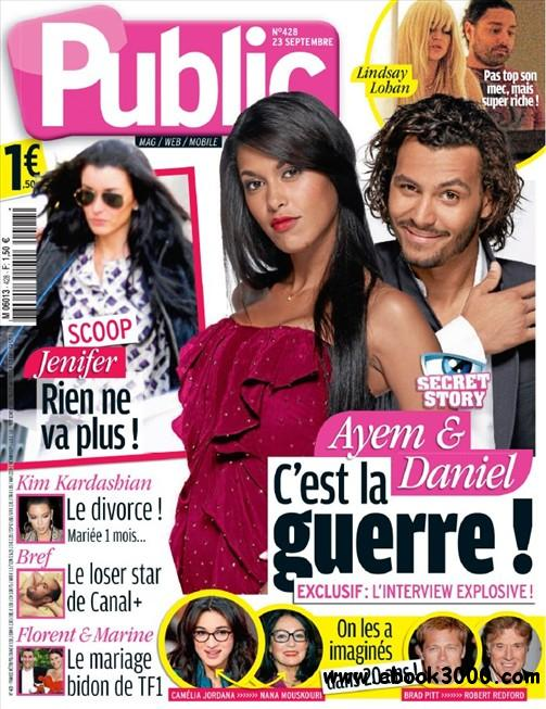 Public N 428 du Vendredi 23 Septembre 2011 free download