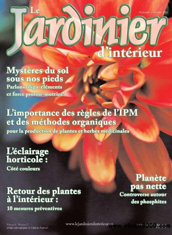 Le Jardinier d'interieur - Septembre/Octobre 2011 free download