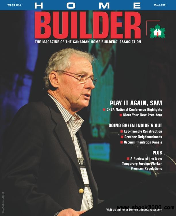 Home Builder - March 2011 free download