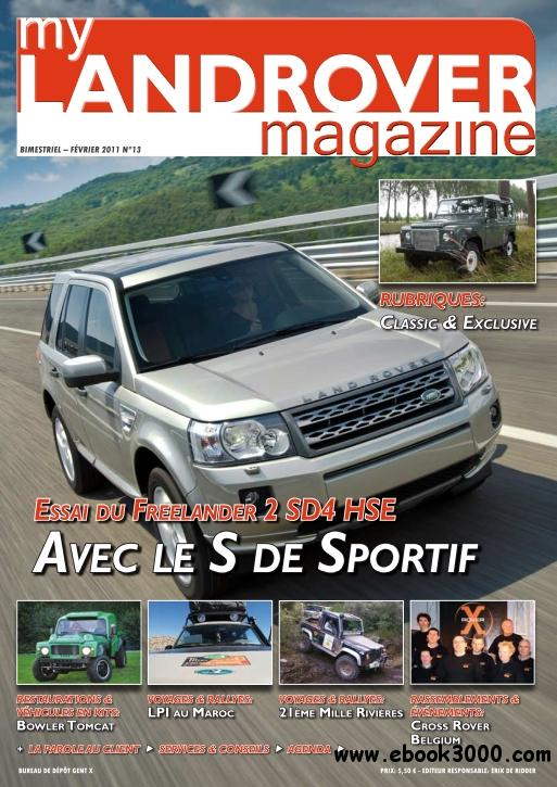 My Landrover Magazine - Fevrier 2011 (N 13) free download