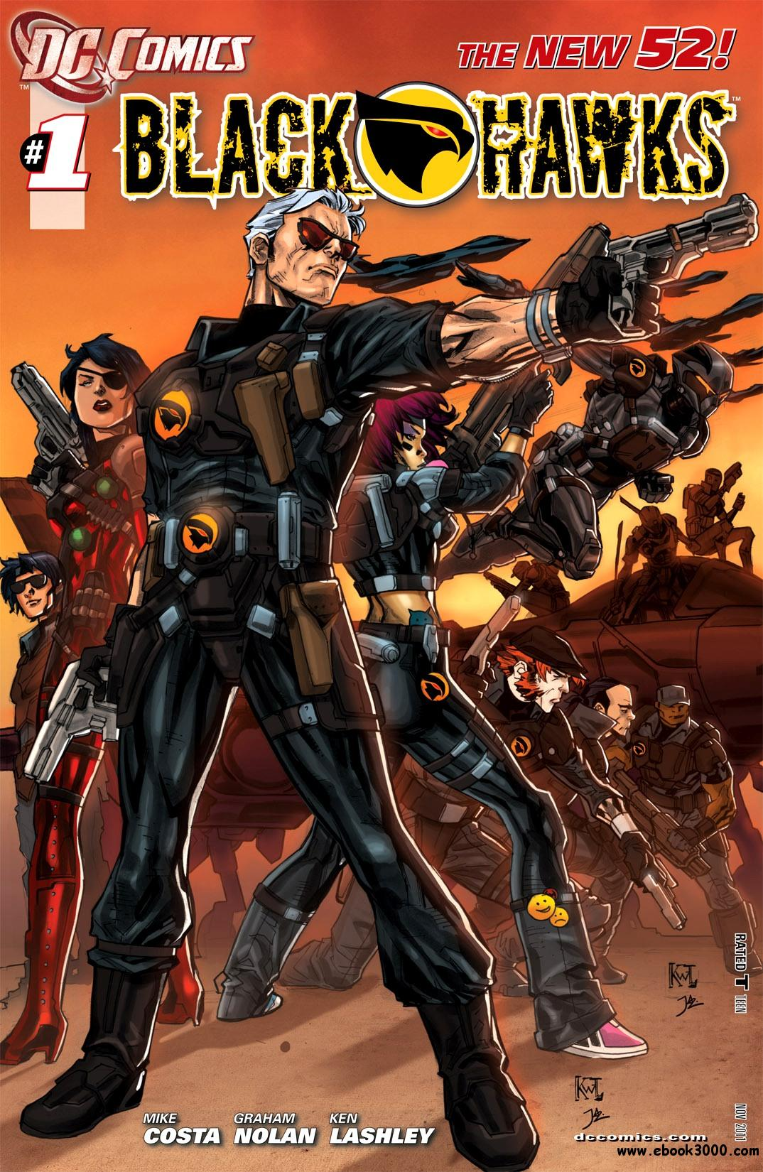 Blackhawks #1 (2011) free download